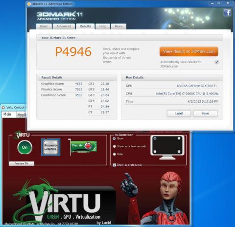 3DMark11 Virtu