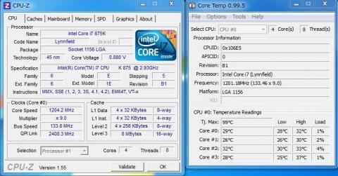 CPU-zノーマル