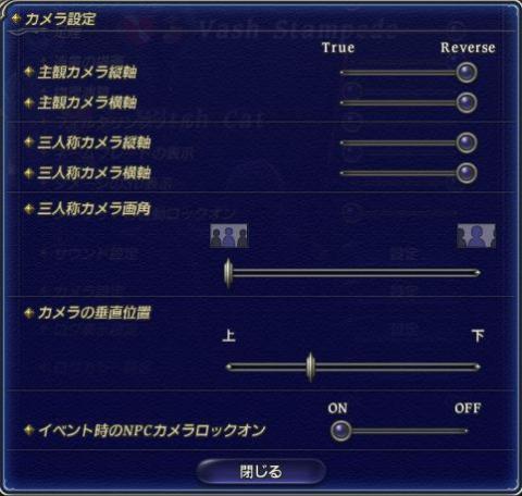 FFXIVコンフィグ設定2