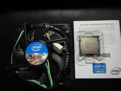 CPU本体・リテールクーラー・取説