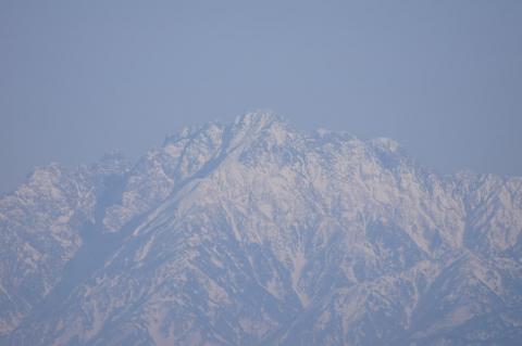 立山連峰(シグマ望遠)