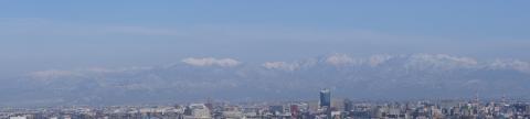 立山連峰パノラマ(標準レンズ)