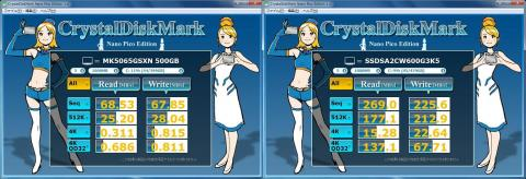 CrystalDiskMark(NanoPico Edition)