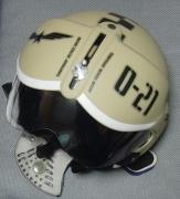 パイロット型ヘルメットとマスク