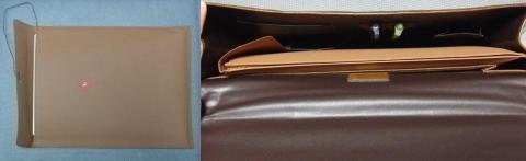 封筒と鞄に収納