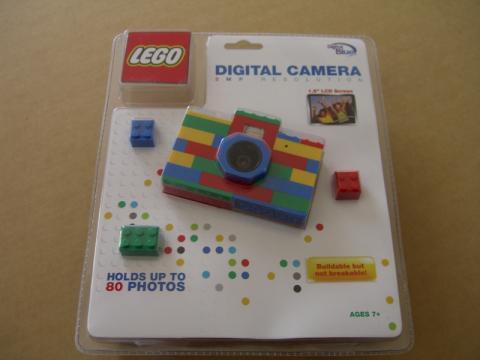 レゴブロックでできたデジカメ