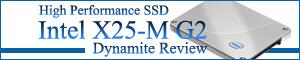 40days ダイナマイトレビュー Intel X25-M G2