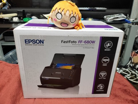 c21a6d26cb EPSONのビジネス向けドキュメントスキャナのDS-570Wをベースに、写真向けの 画作りへの変更や写真の取り込みに特化したソフトが付属するのがこのFF -680W