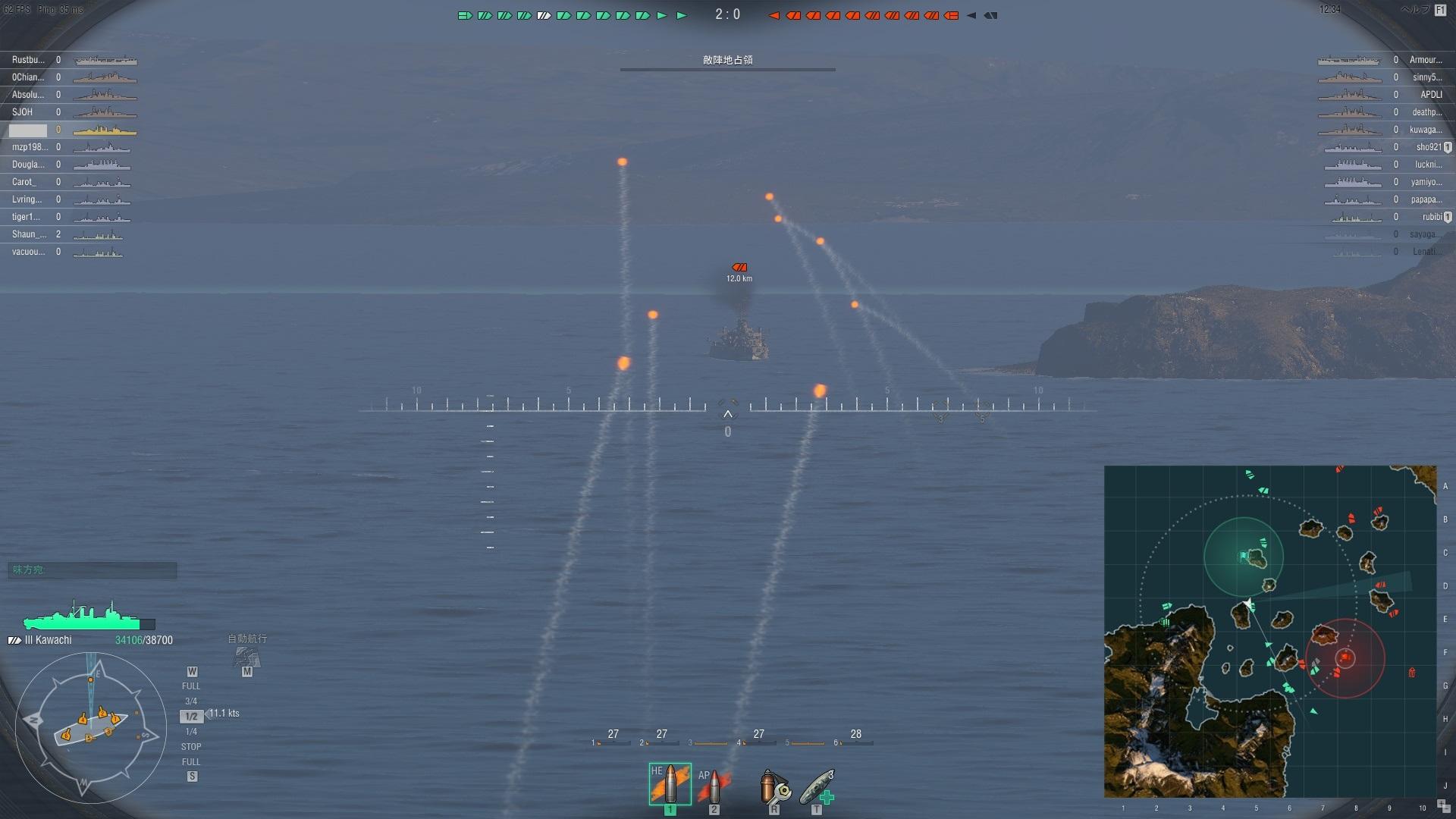 相変わらずの良心的な課金システム World Of Warshipsのレビュー
