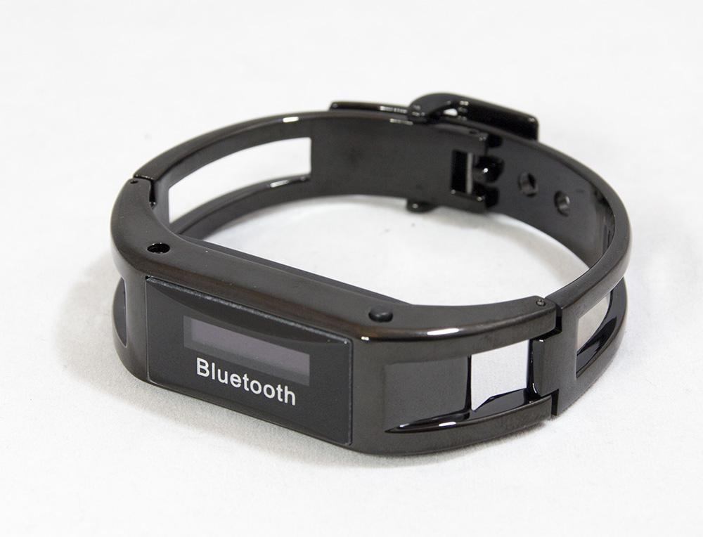 d2598836b3 ガラケーと連携して使うために購入 - 着信を振動でお知らせ Bluetooth ブレスレット 腕 時計 型 着信 振動 通知 プッシュ 通話  ハンズフリー iphone android MA-BBRA ...