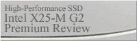 インテルSSD X25-M Mainstream SATA SSD G2 (34nm NAND Flash Memory Product Line) レビュー