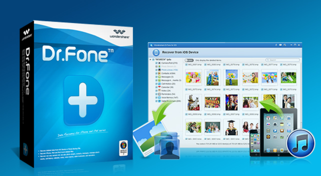 iPhone 復元「Dr.Fone for iOS」 ~ iPhone 6、 iPhone 6 Plus に機種変更する人はこれで安心 ~