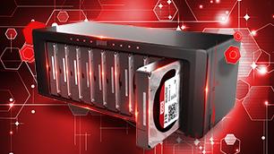WD Red Pro  - 8~16ベイNASに最適化されたHDDで不安軽減 & パフォーマンス向上