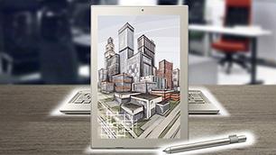 「dynaPad N72」 ~創造的思考のためのインテリジェント・ツール~