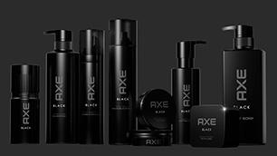 ユニリーバ【AXE BLACK】-売上世界NO.1男性用化粧品ブランド