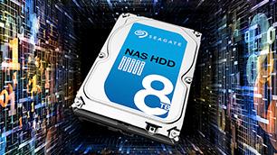 Seagate NAS HDD ~大容量!24時間365日フル稼働でNASに最適~