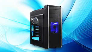 ENERMAX Fulmo.Q PLUS ~最大399mmのビデオカード搭載可能!ミドルタワーPCケース~