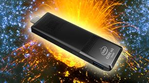 インテル® Compute Stick STK2M3W64CC ~ギリギリ限界チャレンジ 第8弾~