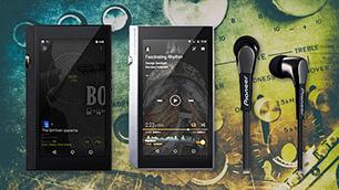 デジタルオーディオプレーヤー(DAP)&重低音イヤホン【DP-X1A】【XDP-300R】/【SE-CL722T】