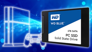 WD Blue SSD ~PS4で容量を気にせず快適にゲームを楽しむ方法~