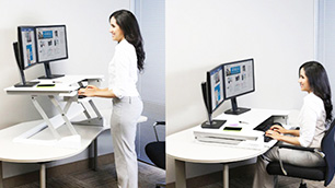 Ergotron「WorkFit-TL」~座りすぎ解消、快適作業環境で健康促進~