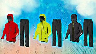 防水性・透湿性・伸縮性を兼ね備えた全天候型アウトドアレインウェア! ワークマン