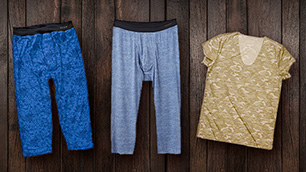 ISETAN MEN'S × ZIGSOW コラボ企画 第9弾 「<シーク> UネックTシャツ・ニーレングス」