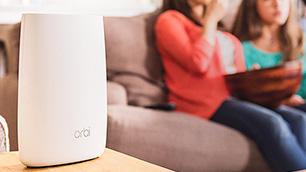 NETGEAR「Orbi(オービ) RBK50」~家の隅から隅まで安定した高速インターネット通信を実現~