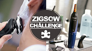 ZIGSOWチャレンジ第4弾!フェイススタイリングキットとウェット&ドライ電気シェーバーで男のフェイシャルケアはどう変わる!?