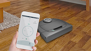 ネイト ロボティクス「Botvac D5 Connected (ボットバック D5 コネクテッド)」 ~アプリで操作するWi-Fi対応ロボット掃除機~