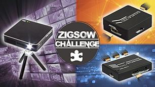 ZIGSOWチャレンジ第6弾!「あったらベンリ!」なグッズで4Kコンテンツを楽しむ!スマホの写真&映像を外で楽しむ!