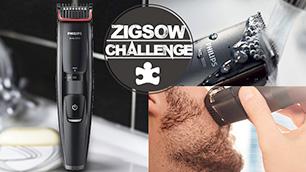 ZIGSOWチャレンジ第7弾!ヒゲトリマー(BT5204/15)で思い通りにヒゲをデザインしよう!