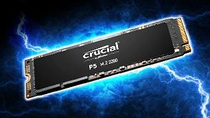 シーケンシャル読込み最大3,400MB/秒!!「Crucial P5 3D NAND NVMe™ M.2 SSD」の驚異的なスピードを体感しよう