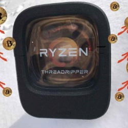 AMD Ryzen(TM) Threadripper(TM) 1950Xで仮想通貨を掘ってみたらどうなった?、こうなった・・・